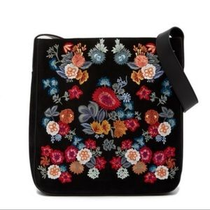 Brand New! Lucky Brand Super Bloom Embroidered bag
